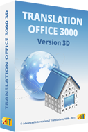 Translation Office 3000 software for translators and translation agencies